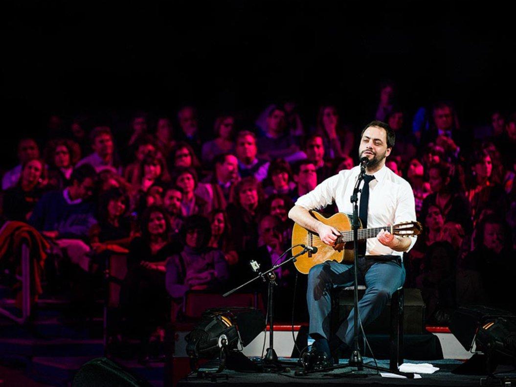 Antonio Zambujo, en un concierto reciente.