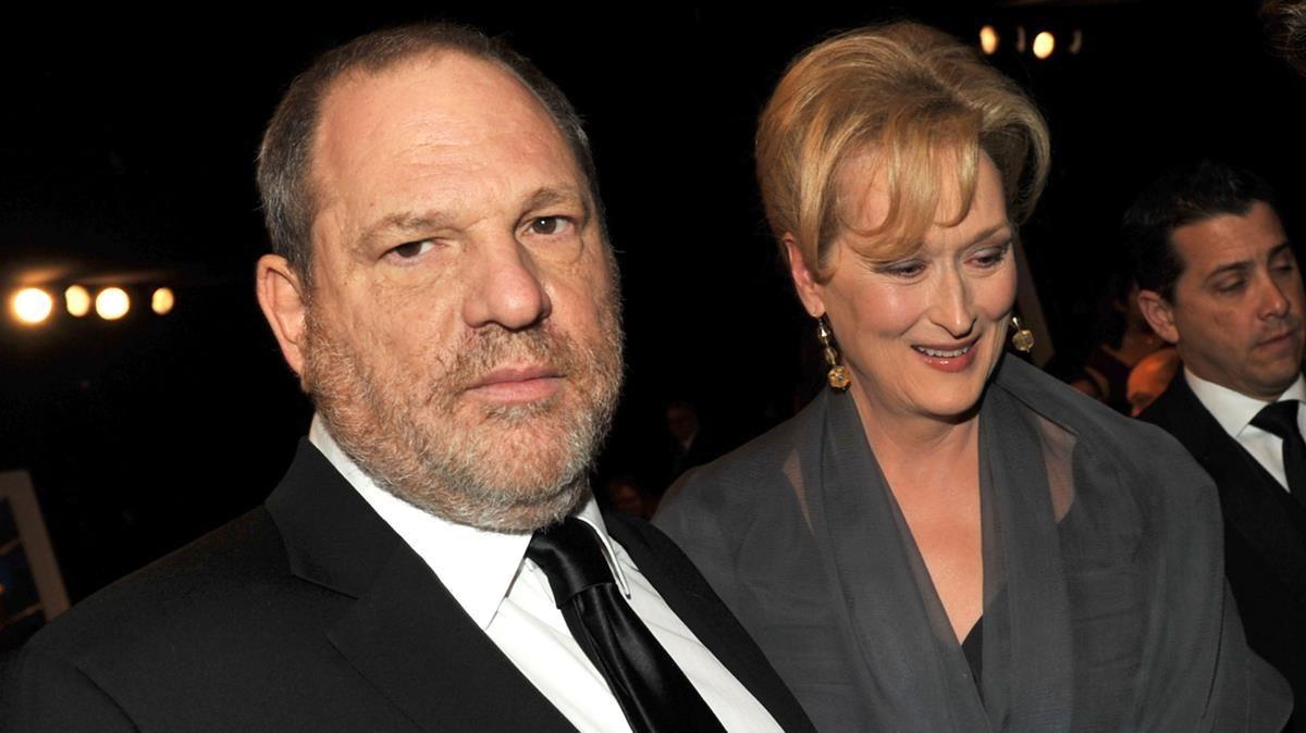 weinstein y Meryl Streep