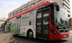 Terrassa incrementa un 4% el uso del autobús urbano en 2017.