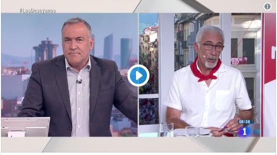 """El presentador de los encierros en TVE sobre 'la Manada': """"Fue un accidente causado por borrachos"""""""