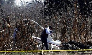 El 24 de diciembre se desplomó en el municipio de Coronango, Puebla, un helicóptero en el que viajaban Alonso, Moreno Valle, el asistente de este, Héctor Baltazar, el piloto Roberto Coppe y el primer oficial Marco Antonio Tavera.