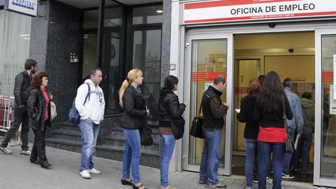 Espanya destrueix 53.115 llocs de treball en el pitjor novembre des del 2013