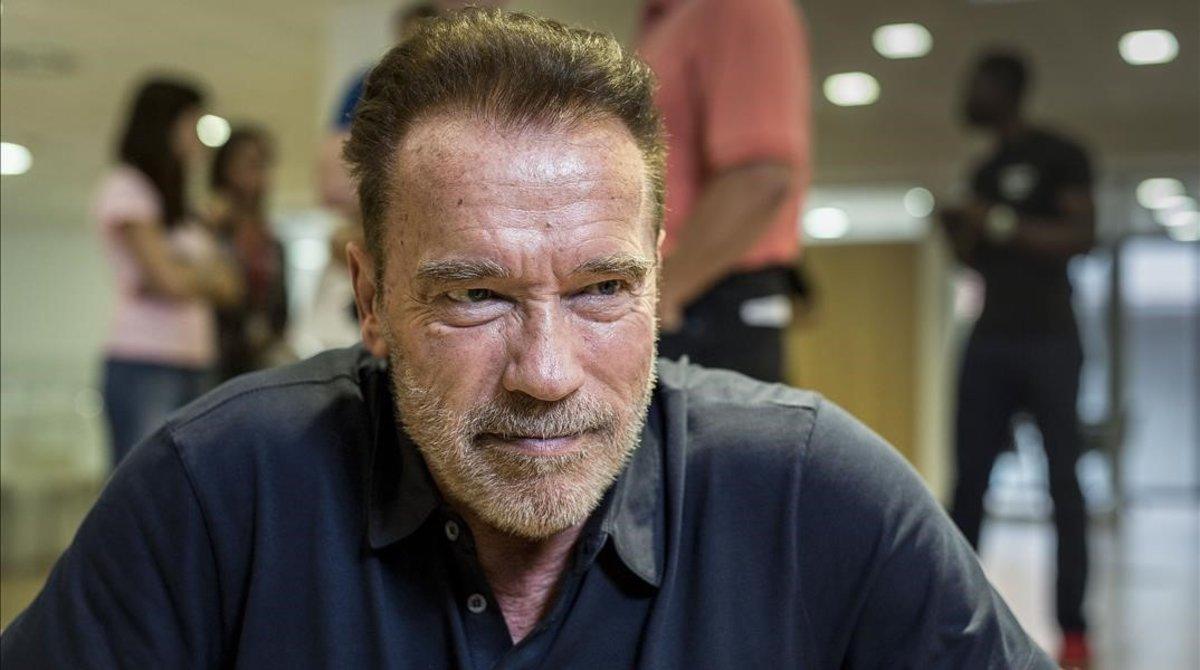 El actor Arnold Schwarzenegger.