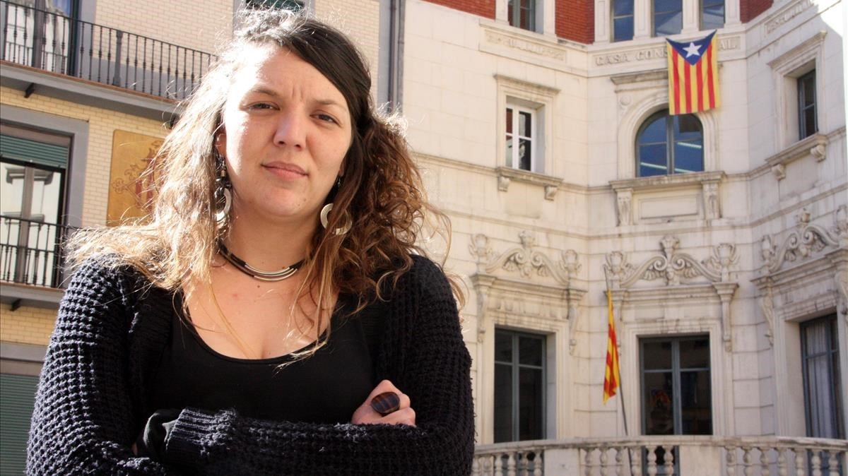 La alcaldesa de Berga, Montse Venturós.