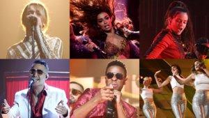 Algunas de las actuaciones musicales que han protagonizado este 2018.