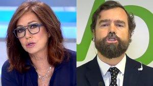 Ana Rosa Quintana e Iván Espinosa de los Monteros.