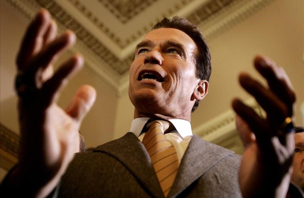 El exgobernador de California, Arnold Schwarznegger.