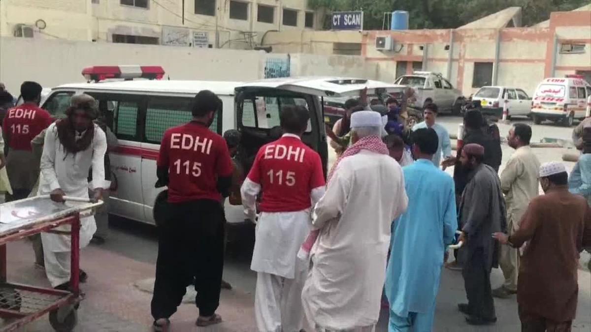 El número de muertos ha alcanzado los 70 y hay más de 100 heridos.