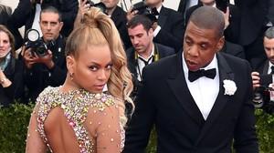 Una imagen de archivo de Beyoncé y su marido, Jay Z.
