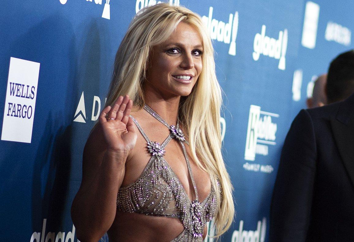 Britney Spears, en una gala en Beverly Hills, en abril del año pasado.