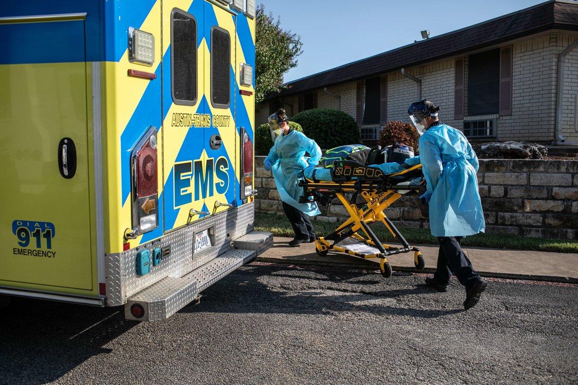 Estados Unidos es el país más golpeado por el coronavirus en el mundo.