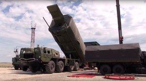 Captura de vídeo que muestra un sistema estratégico intercontinental Avangard, el pasado julio.