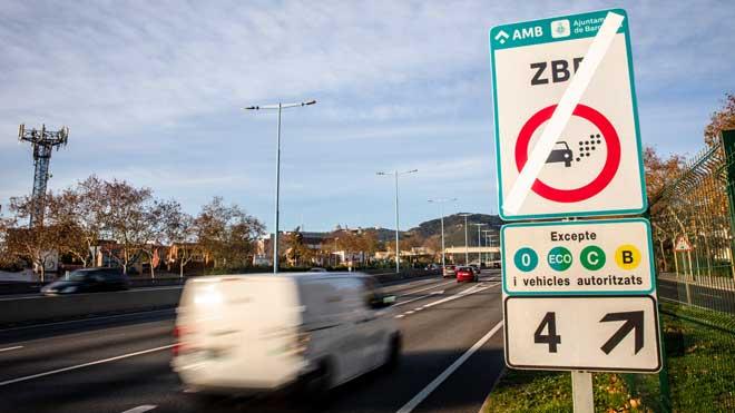La Zona de Baixes Emissions de Barcelona arrenca amb quatre mesos de moratòria