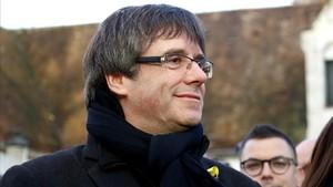 Carles Puigdemont en una imagen reciente.