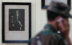 Foto del expresidente chilenoEduardo Frei Montalva en una escuela pública de Chile.REUTERS Rodrigo Garrido