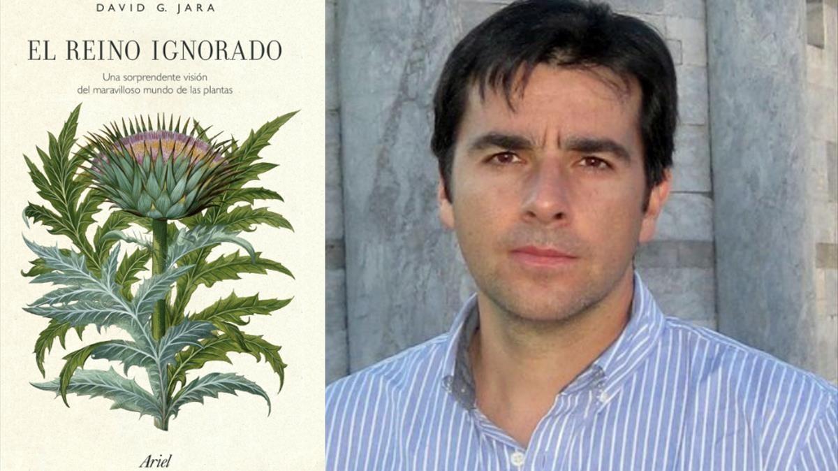 El divulgadorDavid G. Jara, autor de El reino ignorado. Una sorprendente visión del maravilloso mundo de las plantas (Ariel, 2018)