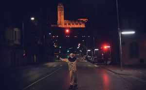 Con esta foto abrió hace unos días la cuenta de Instagram #LleidaClown que ha dado tanto que hablar.