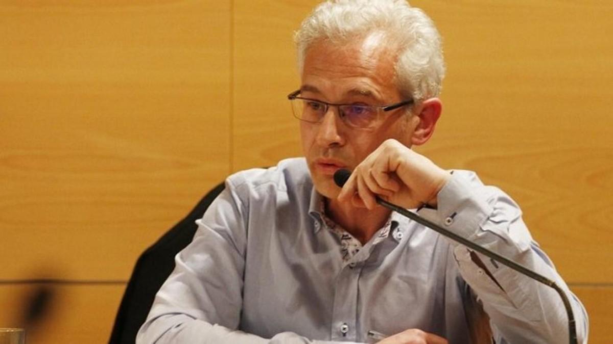 El concejal del PSC de Mataró Joan Vinzo, en una imagen de archivo.