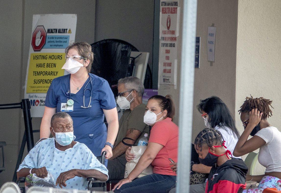 Estados Unidos es el primer país con mas contagios y muertos por Covid-19 en el mundo.
