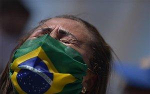 Crisis en Brasil por la pandemia de coronavirus.