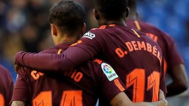 Coutinho y Dembéle, los menos clásicos del Barça-Madrid