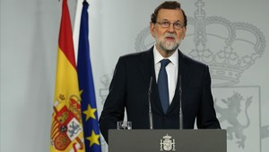 Declaración del presidente del Gobierno, Mariano Rajoy.
