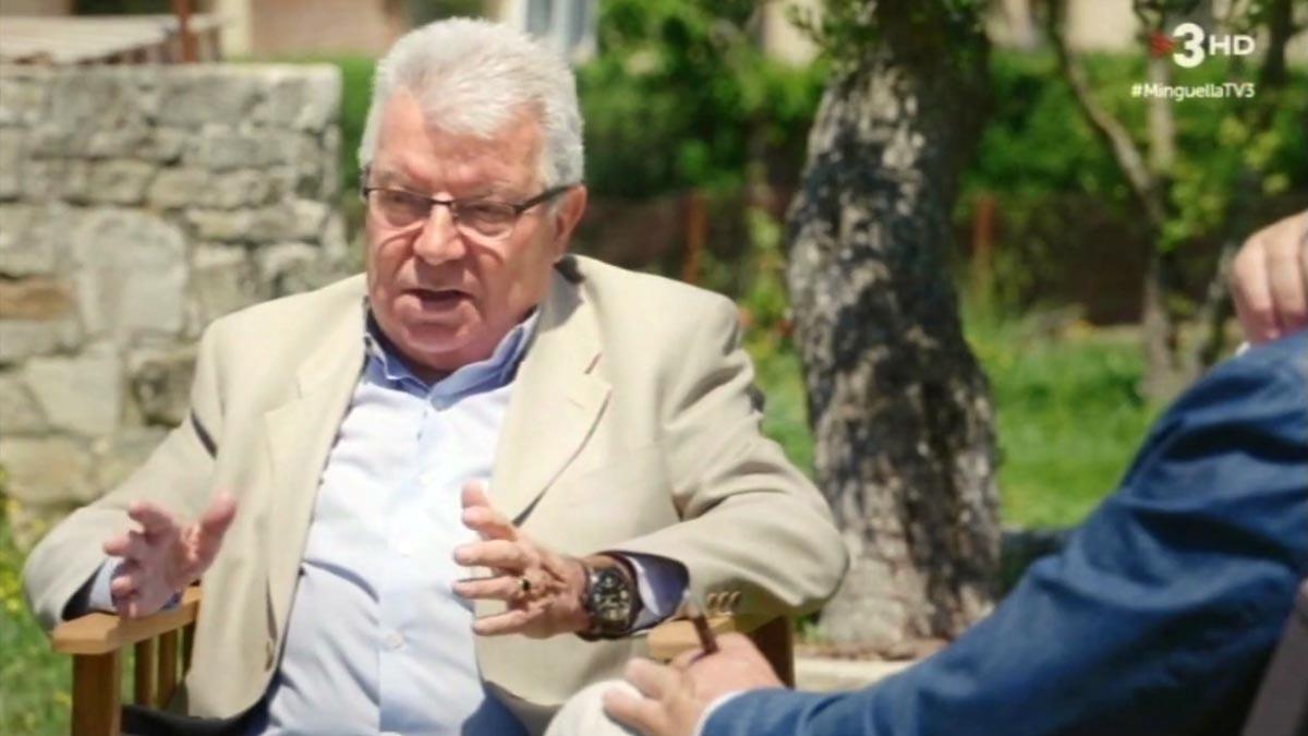 Josep María Minguella y Lluís Canut (TV-3).