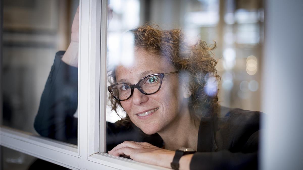 Julia Solomonoff, directora del filme Nadie nos mira, en Barcelona.