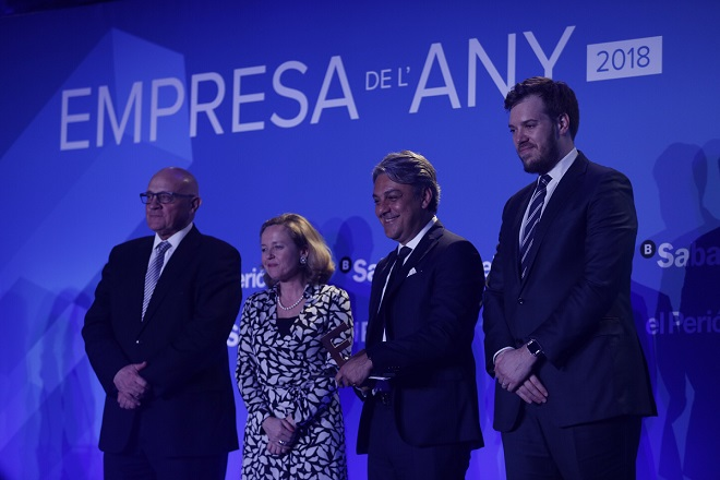 Seat rep el premi Empresa de l'Any 2018 d'EL PERIÓDICO