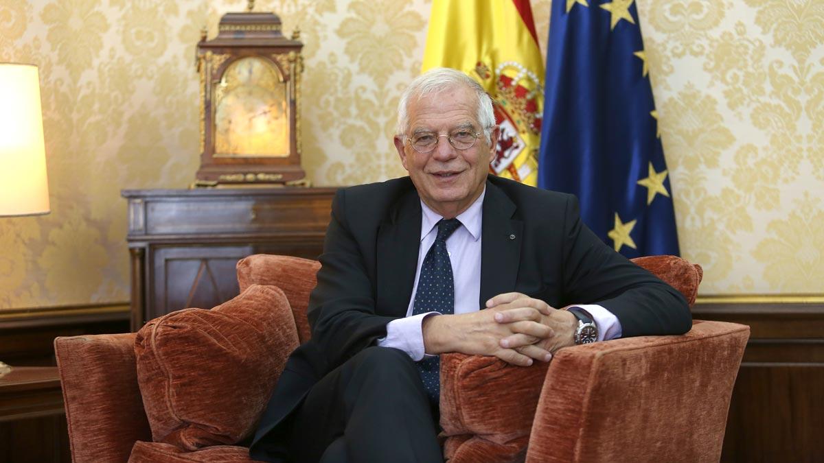 Entrevista con Josep Borrell, ministro de Exteriores.