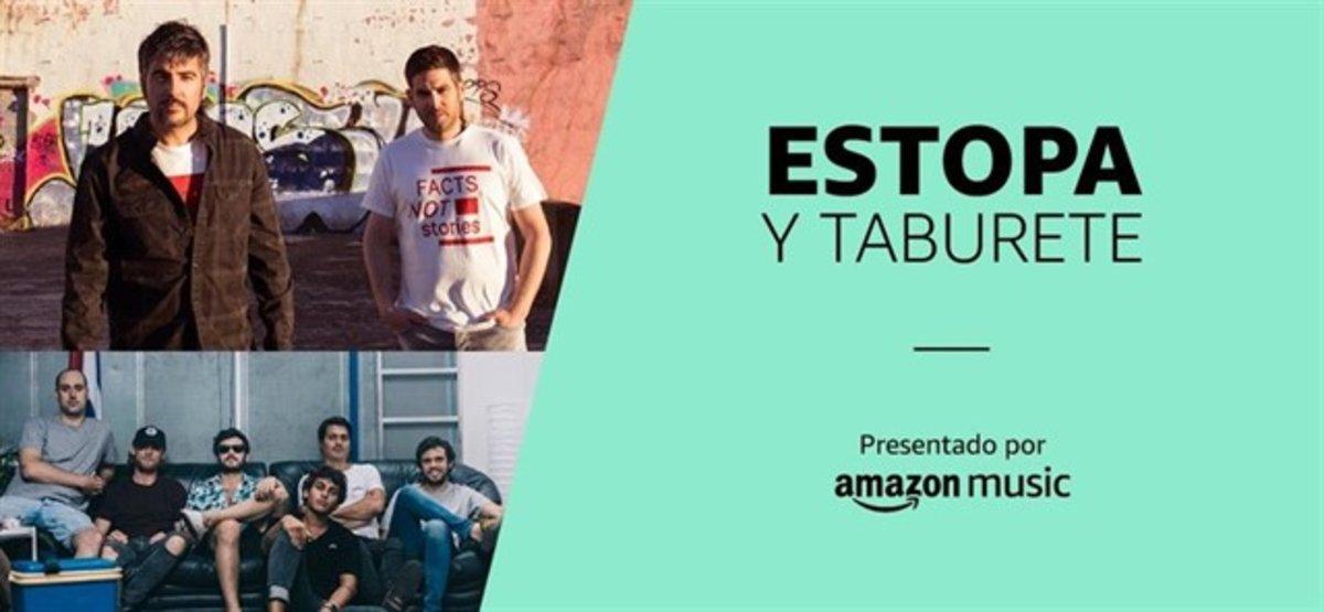 Amazon te lleva de concierto (gratis)