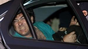 El etarra Xabier Lopez Peña, Thierry, tras su detención el 21 de mayo del 2008