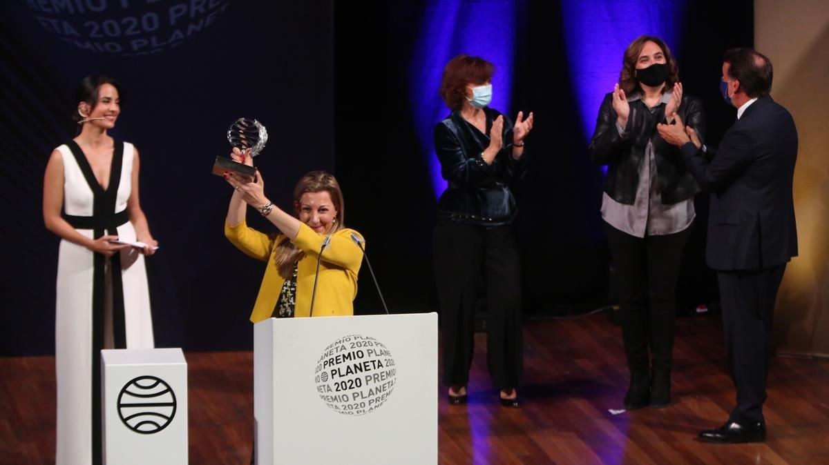 La entrega del premio Planeta a Eva García Sáenz de Urturi