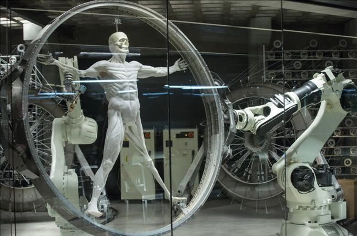 Fotograma de la serie Westworld.