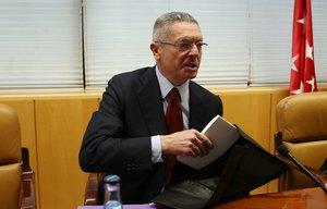 El ex presidente de la Comunidad de Madrid y ex ministro de Justicia Alberto Ruíz Gallardón.