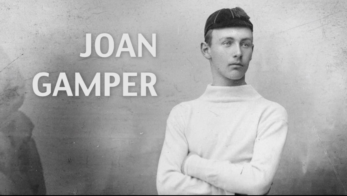 Imagen del documental de TV-3 Gamper. Linventor del Barça.