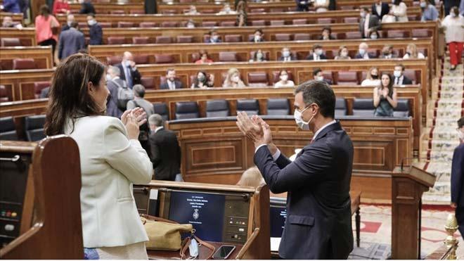 Aprovats els primers pactes entre el PSOE i el PP al Congrés per dissenyar l'Espanya post-Covid
