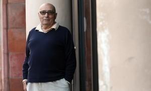 Iago Pericot, en el Mercat de les Flors, en el 2008.