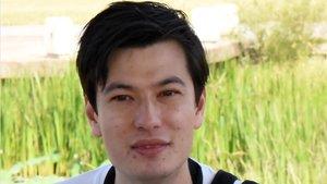 Imagen del estudiante australiano Alek Sigley, retenido en Corea del Norte.