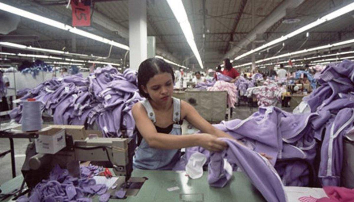 Imagen de la muestra 'Maquilas. La esclavitud laboral del siglo XXI'.