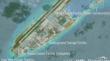 El conflicto norcoreano acelera la militarización de las islas artificiales chinas