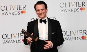 Jamie Parker, premio Olivier al mejor actor por 'Harry Potter y el niño maldito'.
