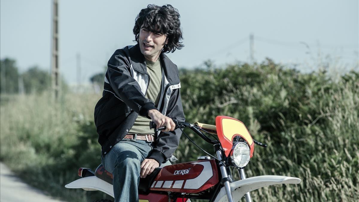 El actor Javier Rey, en la serie de Antena 3 Fariña.