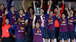 El Barça no falla i aconsegueix davant del Conca el seu sisè títol consecutiu