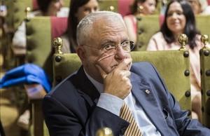Juan Cotino, expresidente de las Corts Valencianes y exconsejero de la Generalitat.