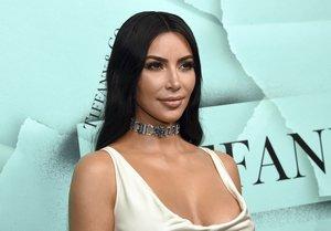 Kim Kardashian, en un acto de la firma Tiffany, el pasado octubre, en Nueva York.