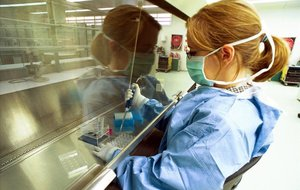 Laboratorio de Irsicaixa, una de las entidades responsables del hallazgo.