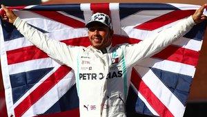 Lewis Hamilton (Mercedes) se corona campeón del mundo de F1 en Austin.