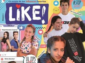 Portada de la revista 'Like'.