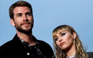 Miley Cyrus y Liam Hensworth, el pasado 6 de junio.